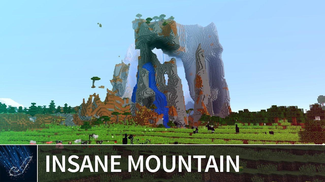 minecraft xbox one mountain seeds 2018