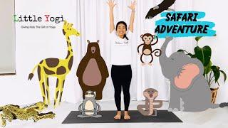 Kids Yoga - Namaste at Home - Safari Adventure