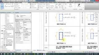 Introduce Shop Drawing Column Detail By Revit Structure - Giới Thiệu Shop Drawing Cột Bằng Revit