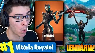 I BOUGHT THE LEGENDARY SKIN OF THE OBLVION AND I KILLED GENERAL! Fortnite: Battle Royale