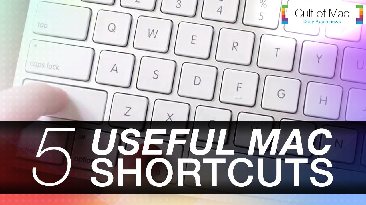 5 Useful Mac Shortcuts