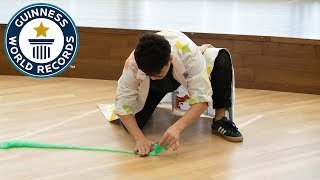 Japan's ボンボンTV earn two slimy record titles! - Guinness World Records Day