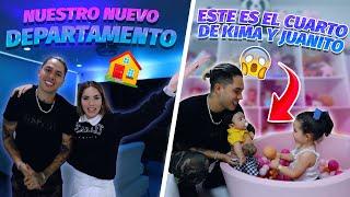 ASÍ ES EL CUARTO DE KIMA Y JUANITO  DEPA TOUR ✨ Jukilop/ Kimberly Loaiza