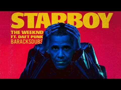 Obama Sings Starboy from The Weeknd
