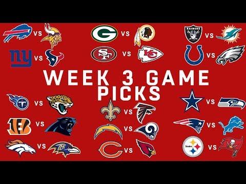 Week 3 NFL Game Picks   NFL