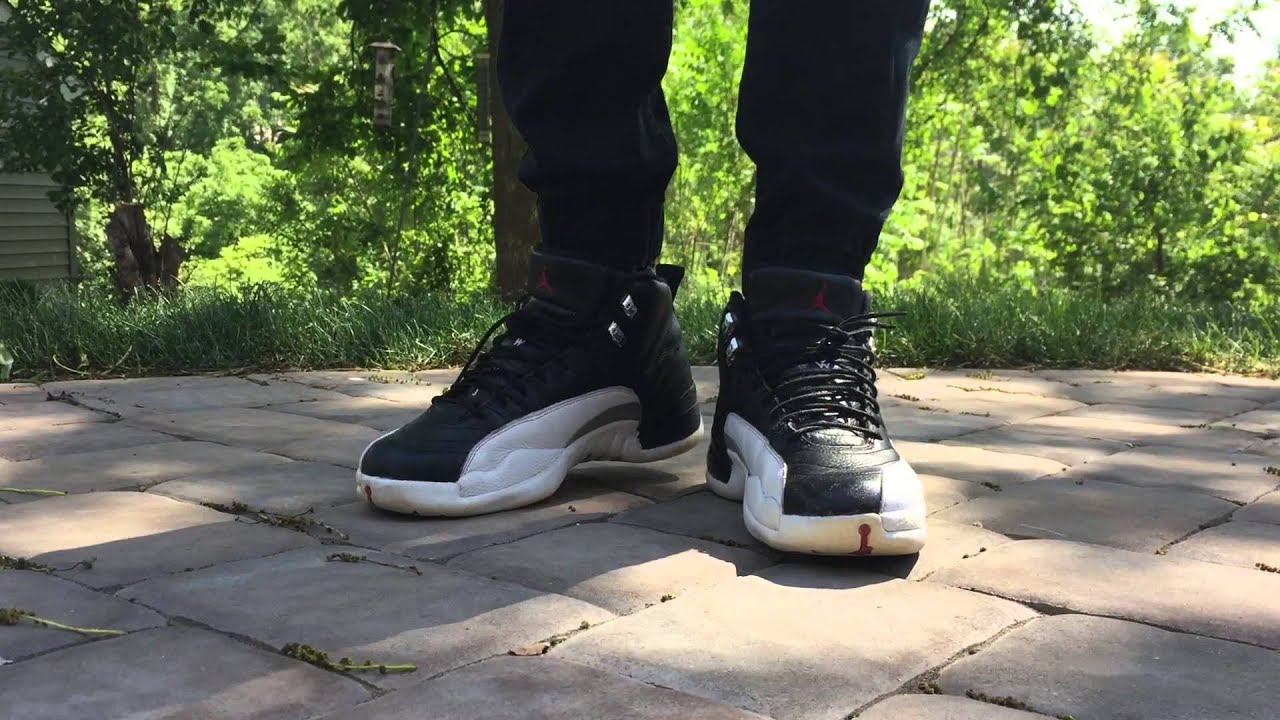 best loved 8c7d6 25006 Jordan 12 Playoff On Foot/ Outfit Vid. Guess Who's Back!