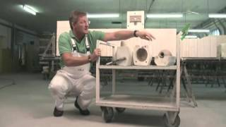 Производство керамических изразцов Hark. Завод по производству керамики для камина(, 2016-04-05T15:25:25.000Z)