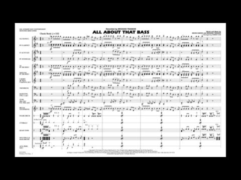 All About That Bass arranged by Ishbah Cox