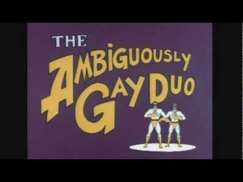 The Ambiguously Gay Duo Theme [8/05/2012's Pick]