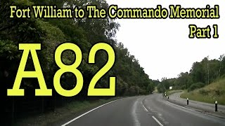 a82 fort william to the commando memorial part 1 audi a3 sport quattro dashcam