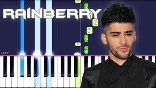ZAYN - Rainberry Piano Tutorial EASY (Piano Cover) Video