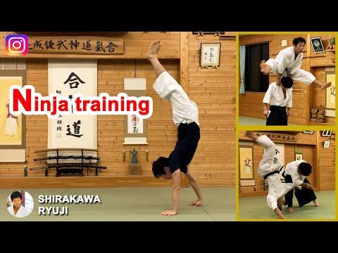 Amazing! Ninja training of Aikido master – Shirakawa Ryuji shihan