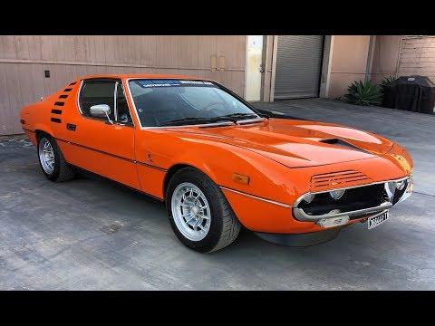 1974 Alfa Romeo Montreal - One Take