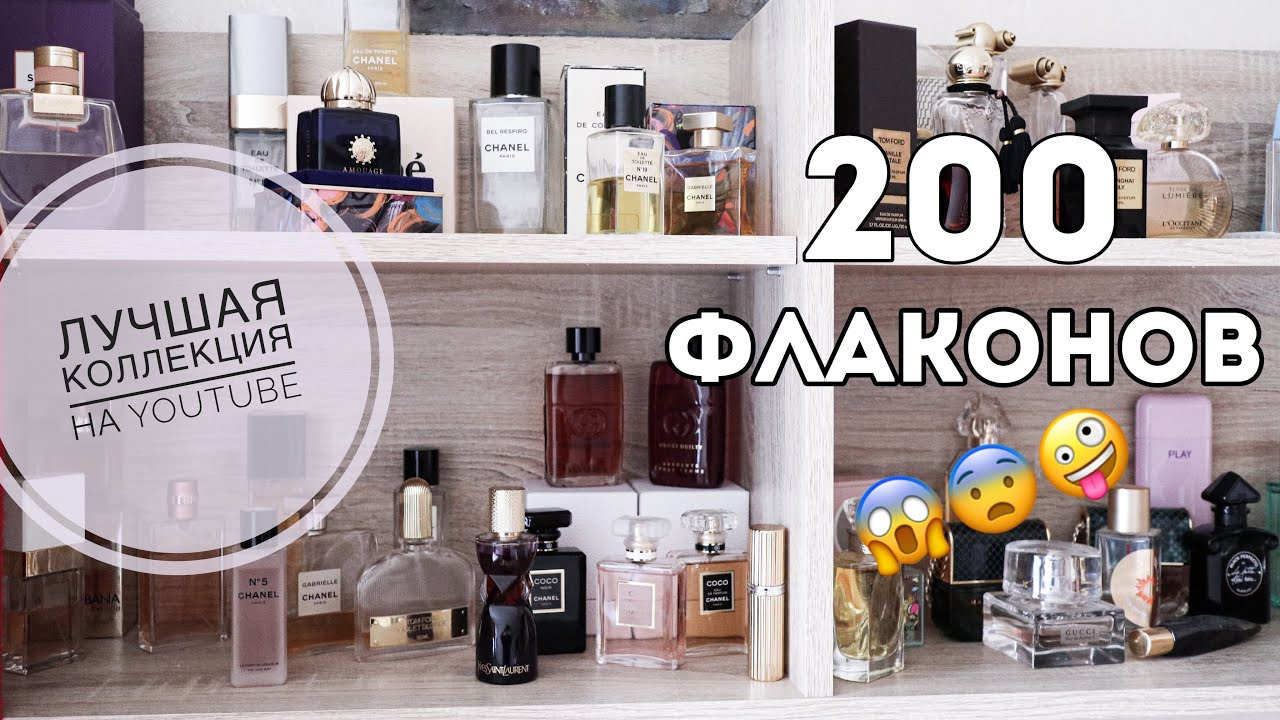 МОЯ КОЛЛЕКЦИЯ ПАРФЮМЕРИИ / 2020