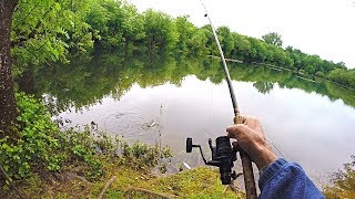 Fishing with Maggots, Worms and Bread