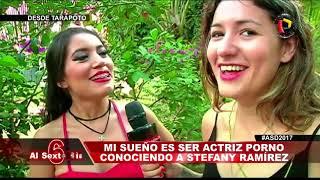 Mi sueño es ser actriz porno: Conociendo a Stefany Ramírez [Al sexto día - 09/12/2017]