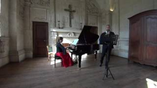 Recital Senlis June 2017: Christopher Palameta (oboe), Daria Fadeeva (piano)