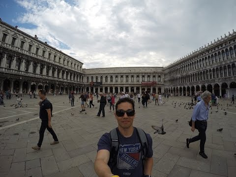 Europe Trip 2015 - Trieste to Venice, Italy - Day 1