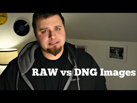 RAW vs DNG Photo Files-Whats the Difference?