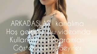 VİDEO YAPARKEN KULLANDIĞIM PROGRAMLAR!!!