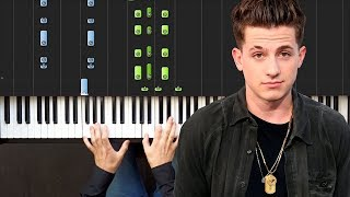 Charlie Puth - Attention   Piano Tutorial   Sheets