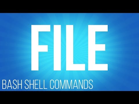 BASH Shell commands file ( commands for linux )