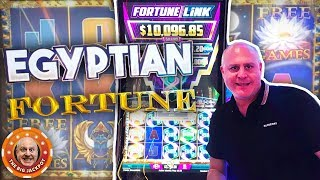 I ♥️ EGYPTIAN FORTUNE DOUBLE JACKPOTS! 🌵Fortune Link Pays Out BIG!