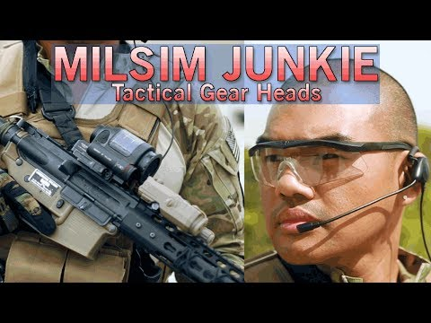 MilsimJunkie Tactical Gear Heads - HSGI, Revision, TAG & More   Airsoft GI