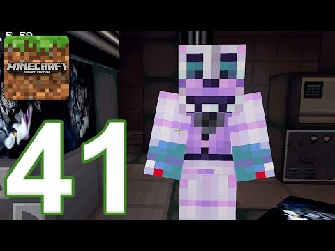 Minecraft: PE - Gameplay Walkthrough Part 41 - FNAF: Sister Location Nights 1-2 (iOS, Android)