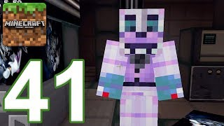 Minecraft: PE - Gameplay Walkthrough Part 41 - FNAF: Sister Location Nights 1-2 (iOS, Android)