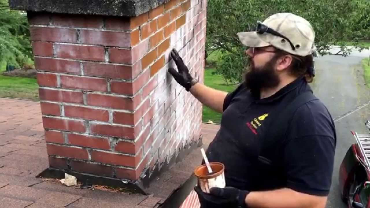 efflorescence removal repair and prevention brick chimney youtube
