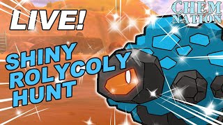 LIVE! SHINY ROLYCOLY HUNT   Pokemon Sword and Shield