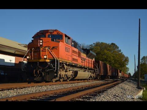 HD: Railfanning West Georgia CSX & NS 4/3-4/7/2017