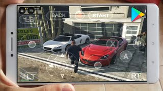 "MISSÃO 2!! JOGANDO GTA V OFICIAL no ANDROID (GAMEPLAY HD) GTA 5 MOBILE - DOWNLOAD ""EMULADOR"" de PC"