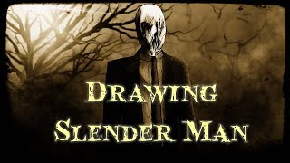 Drawing Slender Man