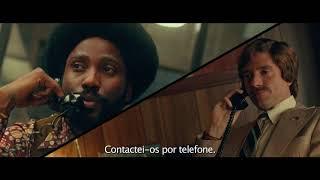 """Blackkklansman: O Infiltrado"" - Trailer Oficial Legendado (Universal Pictures Portugal)   HD"