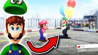 LUIGI endlich in Mario Odyssey !😍 [NEWS] 😍