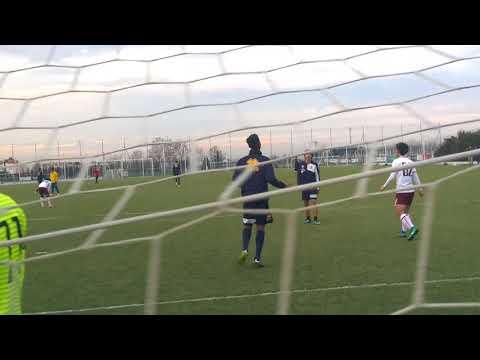 Allenamento congiunto Parma U 17-Himeji Dokkyo University 1-3, gol di Aijbola