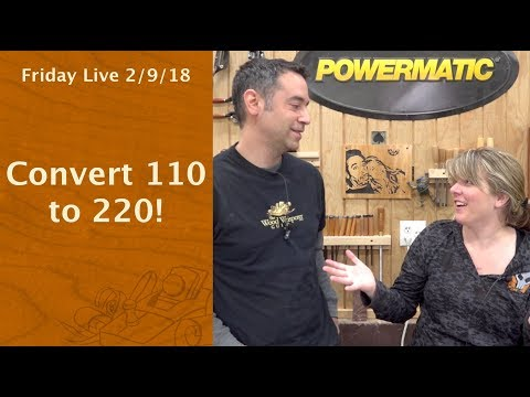 Convert 110 to 220 - Friday Live!
