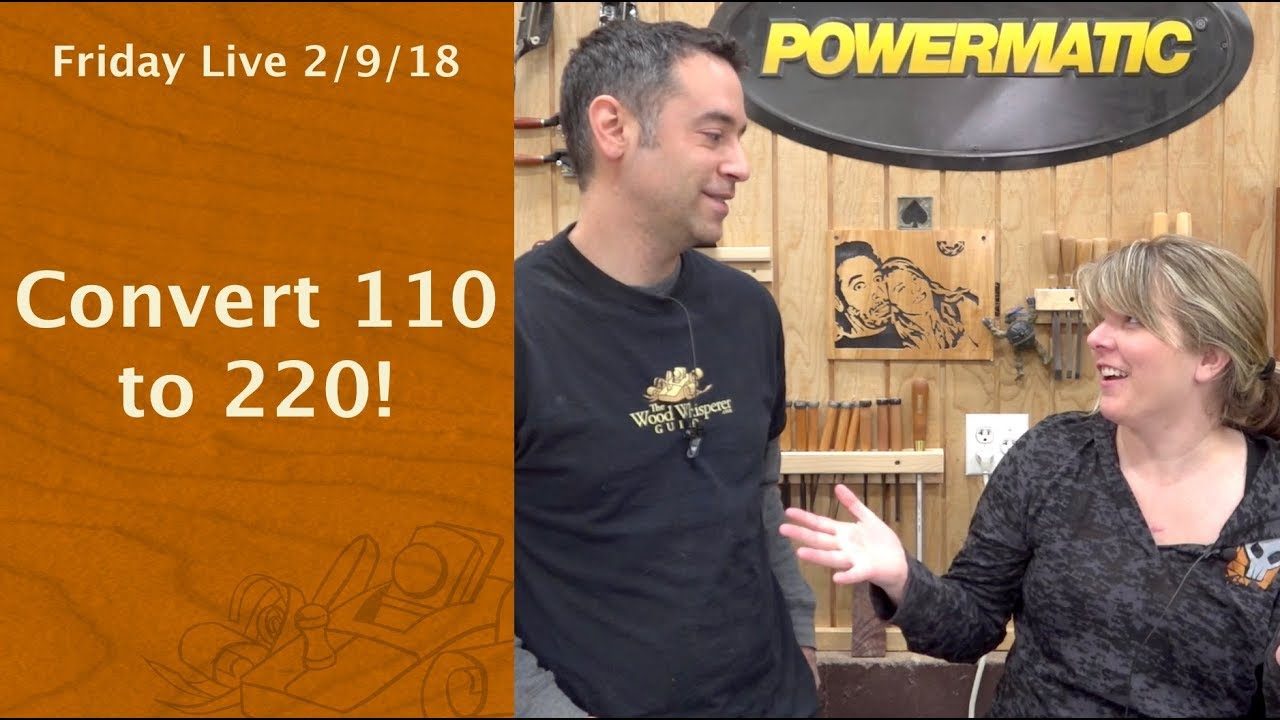 Convert 110 to 220 - Friday Live! - YouTube