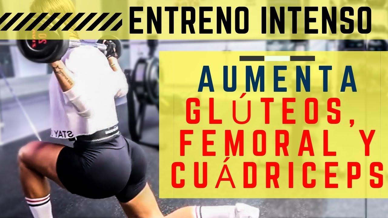 Rutina intensa de gluteos