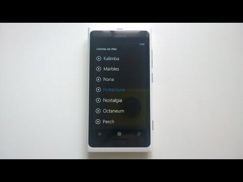 Nokia Lumia 800 ringtones