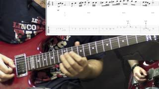 Machine Head - Davidian - Solo Metal Guitar Lesson (with Tabs)