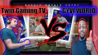 MATCHED VS TWIN GAMING TV IN BR |MLB The Show 17 Battle Royale|