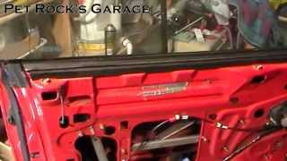 How To Adjust & Align Front Window - Ford Mustang ('94 - '04)