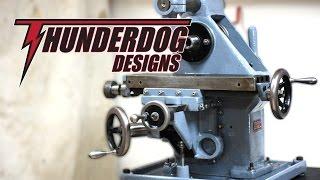 benchtop horizontal milling machine rebuild part 1