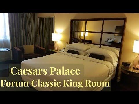Caesars Palace Las Vegas - Forum Tower Classic King Room