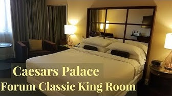 Caesars Palace Las Vegas - Forum Tower Classic King Room