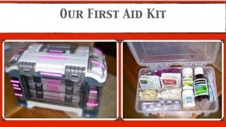 Are You Ready? Our First Aid Kit - Emergency Preparedness {how to organize}