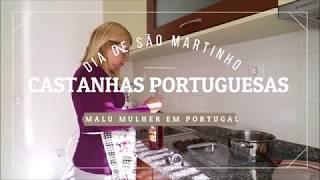 Castanhas portuguesas no dia de São Martinho e agradecimento à Renata Tavares